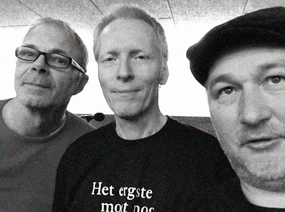 SEW, met Hans Tonino (m) en Erik Peetoom (r)
